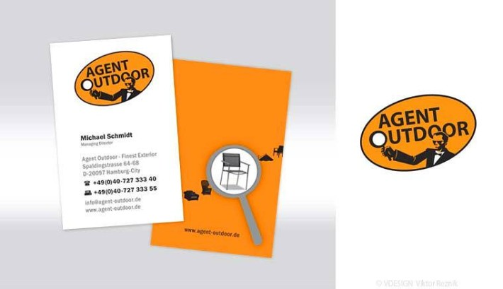 Corporate Design | Logogestaltung • Visitenkarten • Agent Outdoor