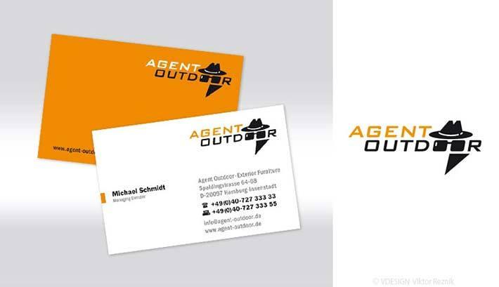 Corporate Design | Logogestaltung • Visitenkarten • Agent Outdoor