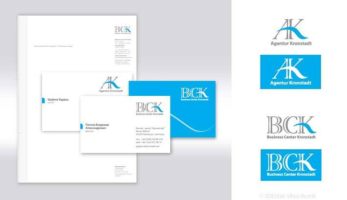 Corporate Design | Logogestaltung • Visitenkarten • Briefbogen • Business Center Kronstadt