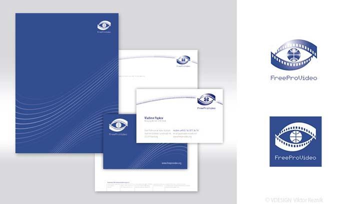 Corporate Design | Logogestaltung • Visitenkarten • Briefbogen • FreeProVideo