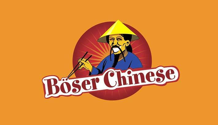 Logogestaltung | Visitenkarten | Böser Chinese
