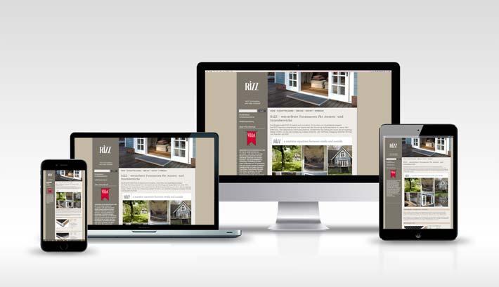 Webdesign | CMS Webseite Gestaltung | Rizz Türmatten