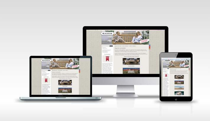 Webdesign | CMS Webseite Gestaltung | Skagerak