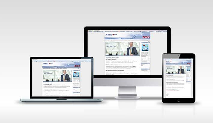 Webdesign | CMS Webseite Gestaltung | Travelporter